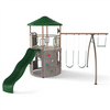 Image of Lifetime Adventure Tower (Earthtone) - Swings and More
