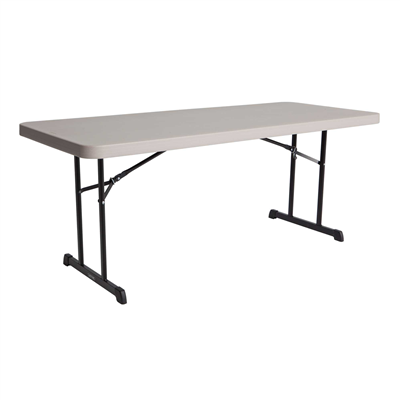 Lifetime 6-Foot Folding table - Putty - Swings and More