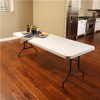 Lifetime 8- Foot Folding Table Commercial - Almond - Swings and More