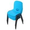 Lifetime Childrens Chair 4pk (Essential) Glacier Blue - Swings and More