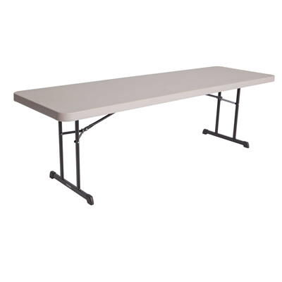 Lifetime 8-Foot Folding table - Putty - Swings and More
