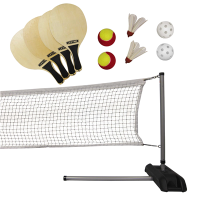 Image of Lifetime Outdoor Games Set With Paddles - Swings and More