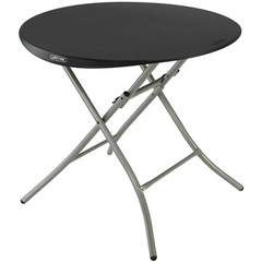 Lifetime 33-Inch Round Personal Table And (4) Chairs Set - Swings and More