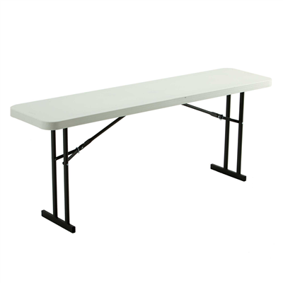 Lifetime 6-Foot Seminar Table - White Granite - Swings and More