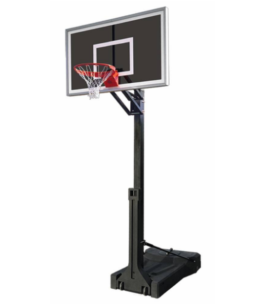"First Team OmniChamp Eclipse Portable Adjustable Basketball Hoop 36""x60"""