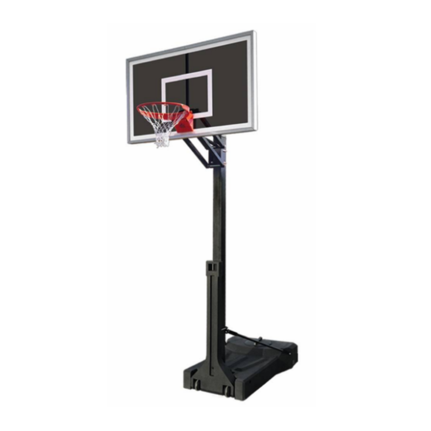 "First Team OmniSlam Eclipse Portable Adjustable Basketball Hoop 36""x 60"""