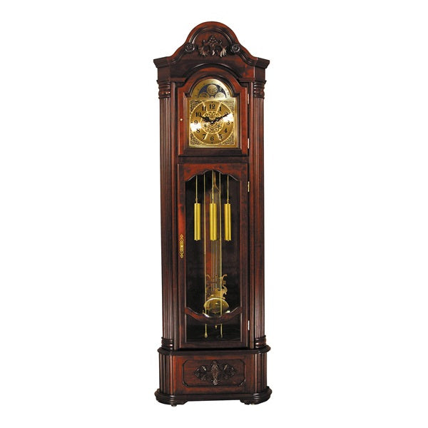 Acme Furniture Longwood Grandfather Clock Dark Walnut