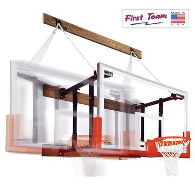 First Team FoldaMount46 Supreme Wall Mount Basketball Hoop
