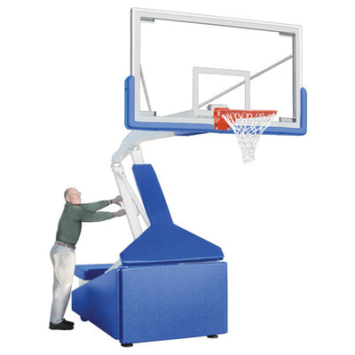 First Team Hurricane Triumph Portable Basketball Hoop 42'' x 72''