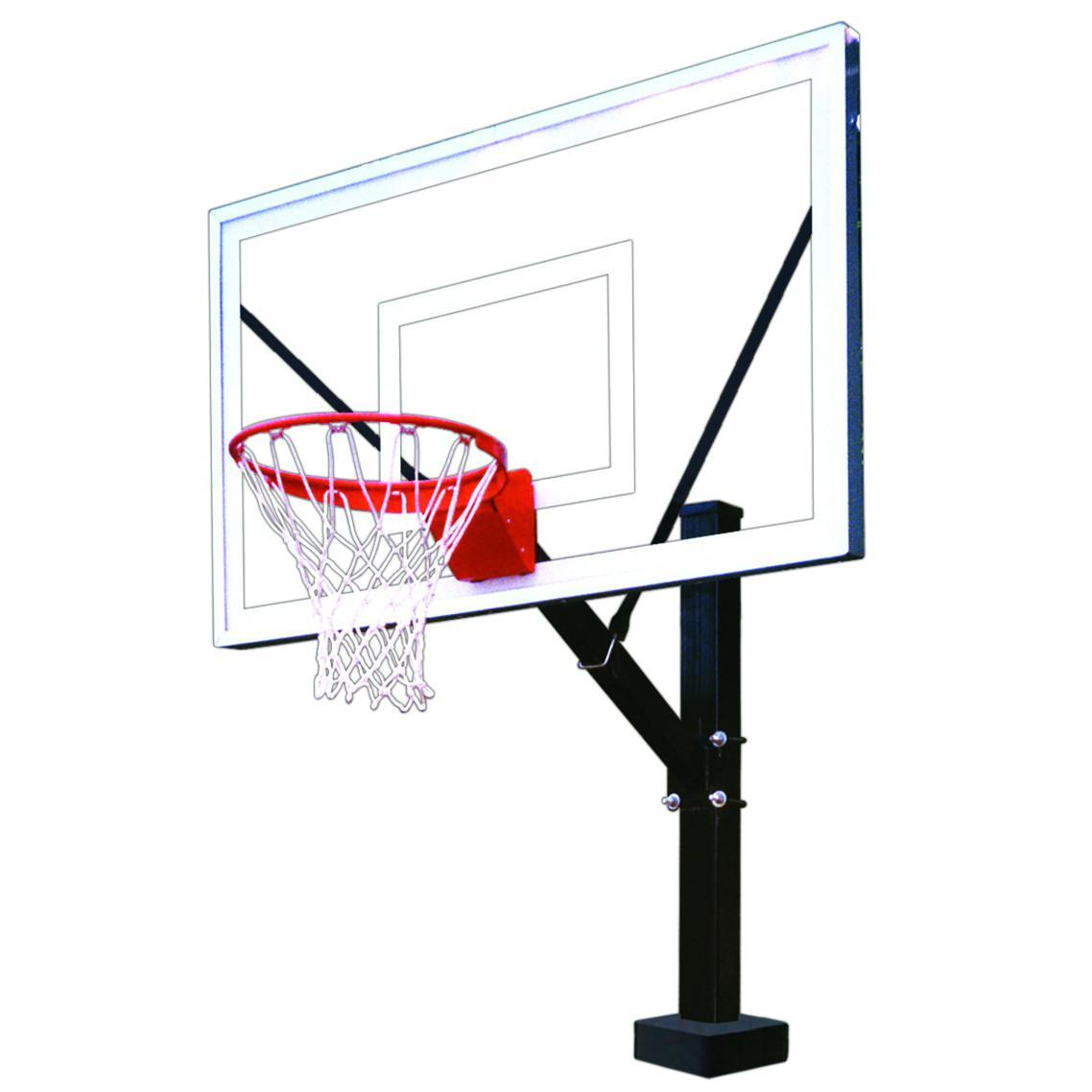 First Team HydroSport II Poolside Basketball Hoop