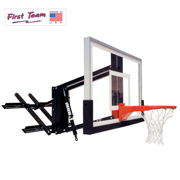 "First Team RoofMaster Turbo Roof Mount Adjustable Basketball Hoop 36""x54"""