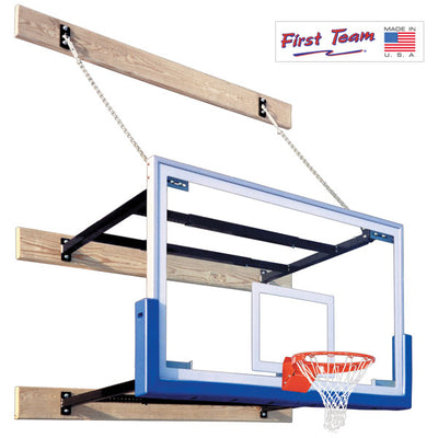 First Team SuperMount46 Victory Wall Mount Basketball Hoop