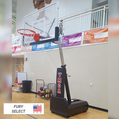First Team Fury Eclipse Portable Basketball Hoop