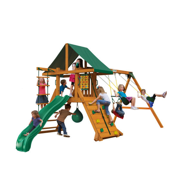 Gorilla High Point II Swing Set 01-1059-AP - Swings and More