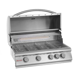 Blaze 32 Inch 4-Burner Built-In Propane Gas Grill With Rear Infrared Burner