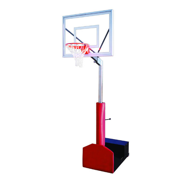 "First Team Rampage II Portable Adjustable Basketball Hoop 36""x48"""