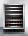 "Summit 24"" Wide Built-In Wine Cellar - Swings and More"