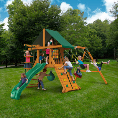 Gorilla High Point II Swing Set - Swings and More
