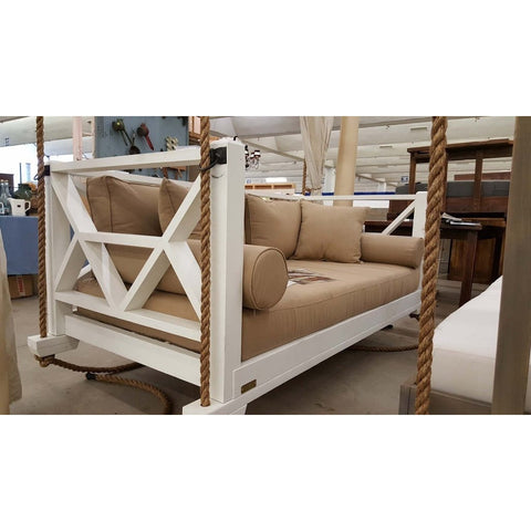 Four Oak Designs The Seaside Designer Swing Bed - Swings and More