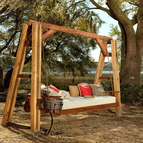 "Vintage Porch Company Swing Bed ""Noah"" - Swings and More"