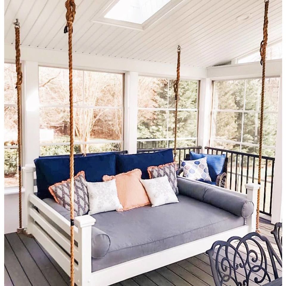 The Elegant Charleston Porch Swing Bed - Swings and More