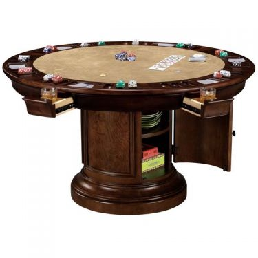 Howard Miller Ithaca Game Table - Swings and More