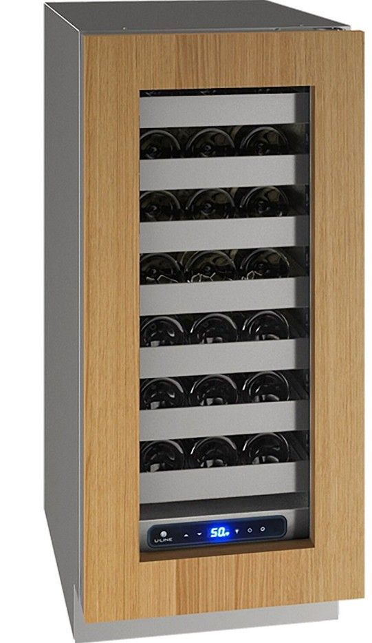 "U-Line 15"" Wine Captain 5 Series 28 Bottle Wine Refrigerator UHWC515-IG01A - Swings and More"