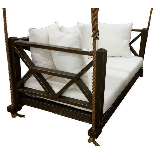 The Seaside Designer Porch Swing Bed - Swings and More