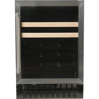 "Azure 24"" Beverage Center Stainless Steel Trim A124BEV-S - Swings and More"