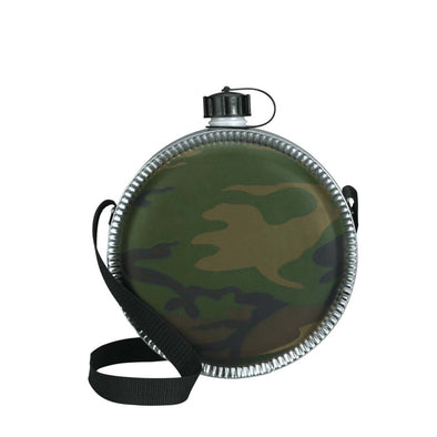 Woodland Camo 2 QT Canteen - Outdoor King
