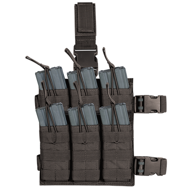 M4/M16 6 Mag Drop Leg Pouch - Outdoor King