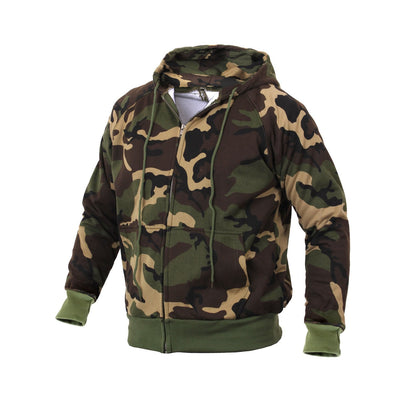 Thermal Lined Hooded Sweatshirt - Outdoor King