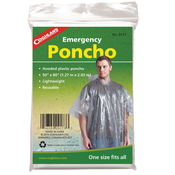 Emergency Poncho - Outdoor King