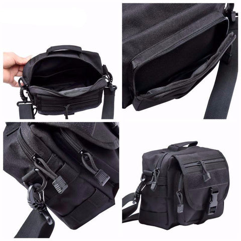 Compact Tactical Messenger Bag-Outdoor King