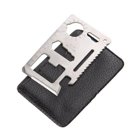 Credit Card 11 Function Multi-Tool - Outdoor King