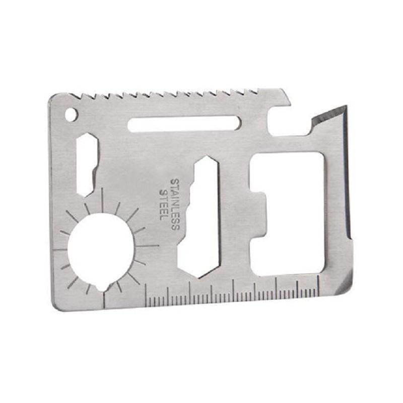 Credit Card 11 Function Multi-Tool-Outdoor King