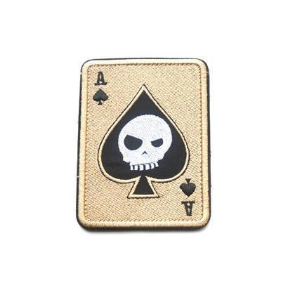 Death Card Embroidery Patch-Outdoor King