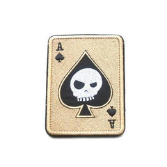 Death Card Embroidery Patch