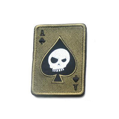 Death Card Embroidery Patch - Outdoor King