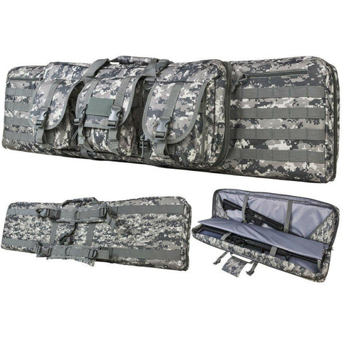 "Deluxe Double AR Range Bag - 28""/36""/42""/46""/55""-Outdoor King"