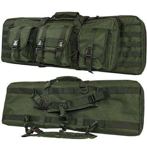"Deluxe Double AR Range Bag - 28""/36""/42""/46""/55"" - Outdoor King"