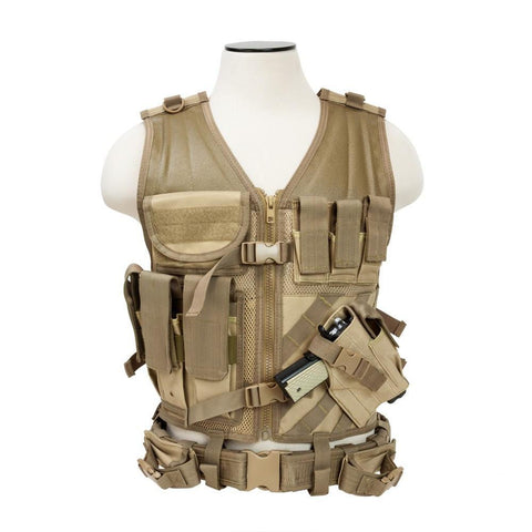 Double Shooting Pad Tactical Vest - Outdoor King