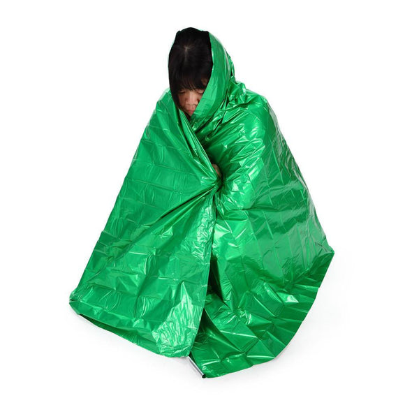 Emergency Thermal Blanket (Colored)-Outdoor King