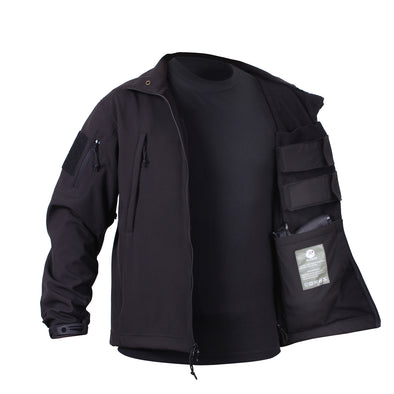 Concealed Carry Soft Shell Jacket - Ambidextrous - Outdoor King