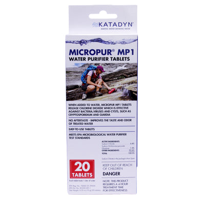 Katadyn Micropur Tablets (Per 20) - Outdoor King