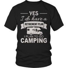 Camping Retirement Plan - Outdoor King
