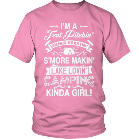 Limited Edition - I'm A Tent Pitchin' Kind Girl-Outdoor King