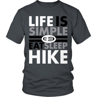 Life Is Simple Eat Sleep Hike - Outdoor King