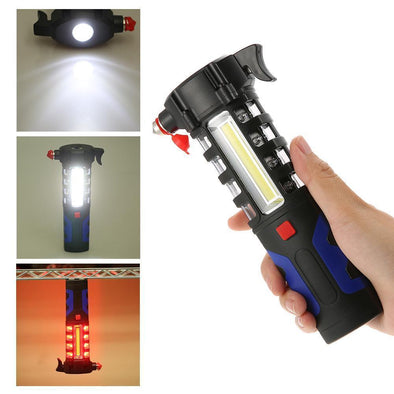 Multi-Light Emergency Glass Breaker - Outdoor King