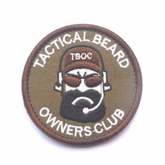 Tactical Beard Owners Club Patch